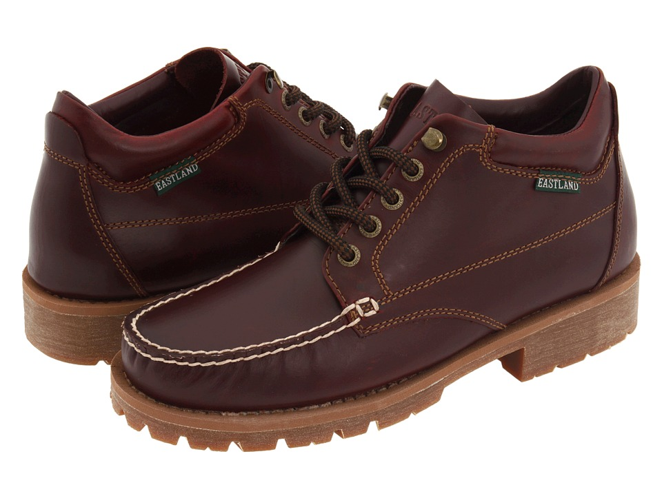Eastland - Brooklyn (Burgundy Leather) Men's Lace-up Boots