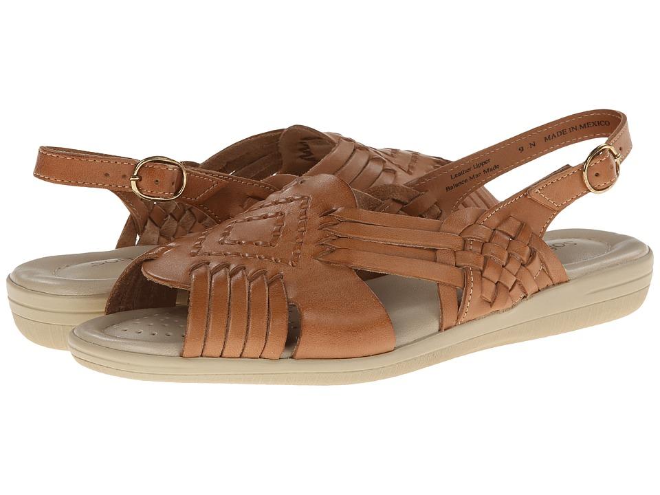 Softspots - Tela (Natural Leather) Women's Sandals