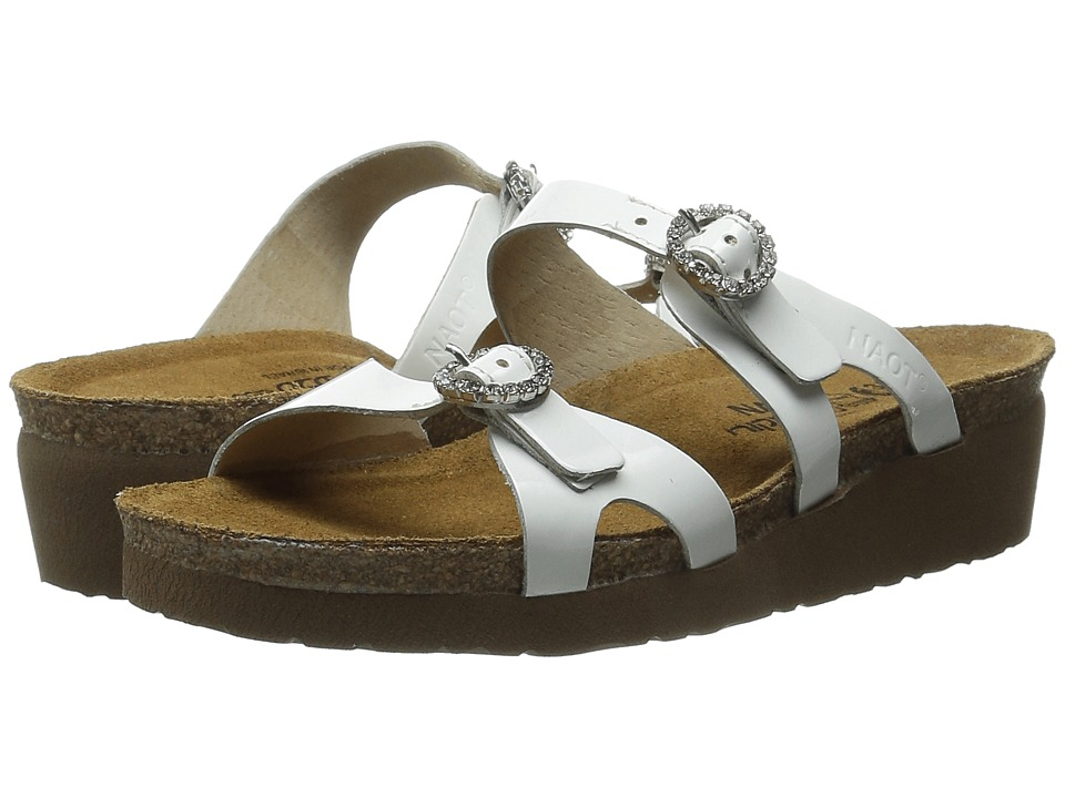 Naot Footwear - Kate (White Patent Leather) Women's Sandals