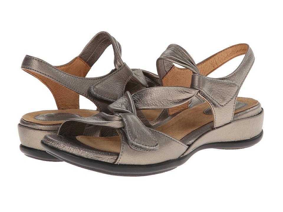Clarks - Lucena (Pewter Metallic) Women's Sandals