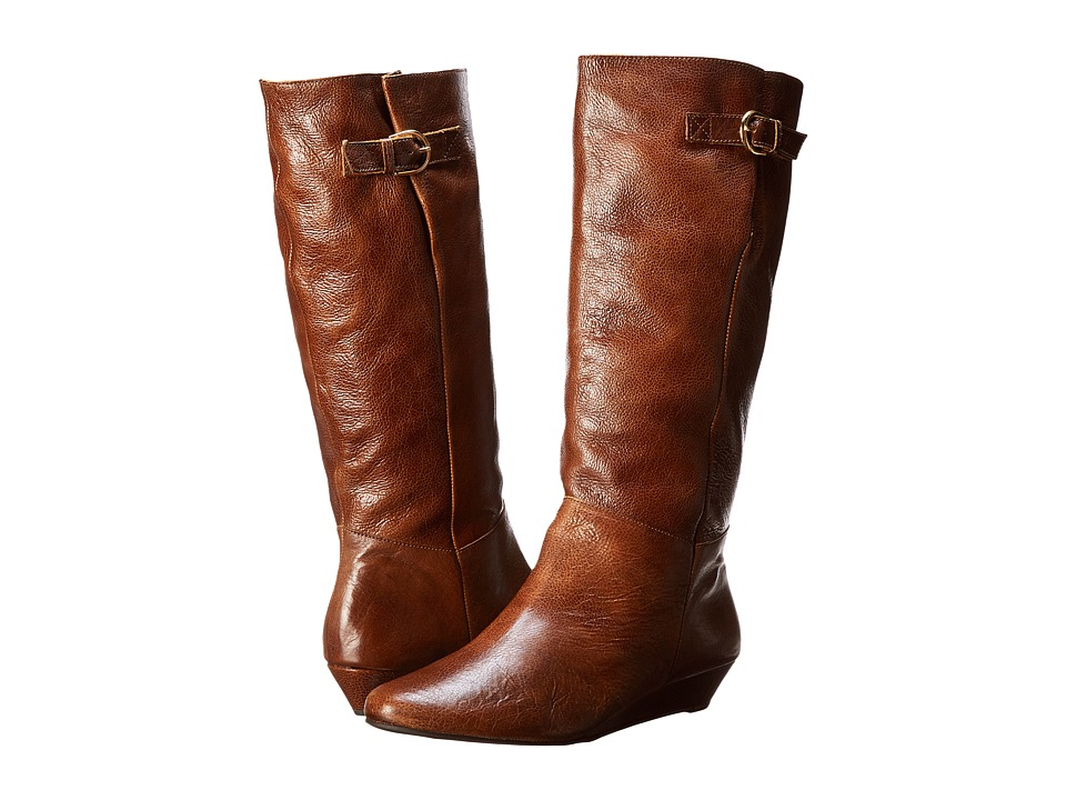 Steven - Intyce (Cognac Leather) Women's Pull-on Boots