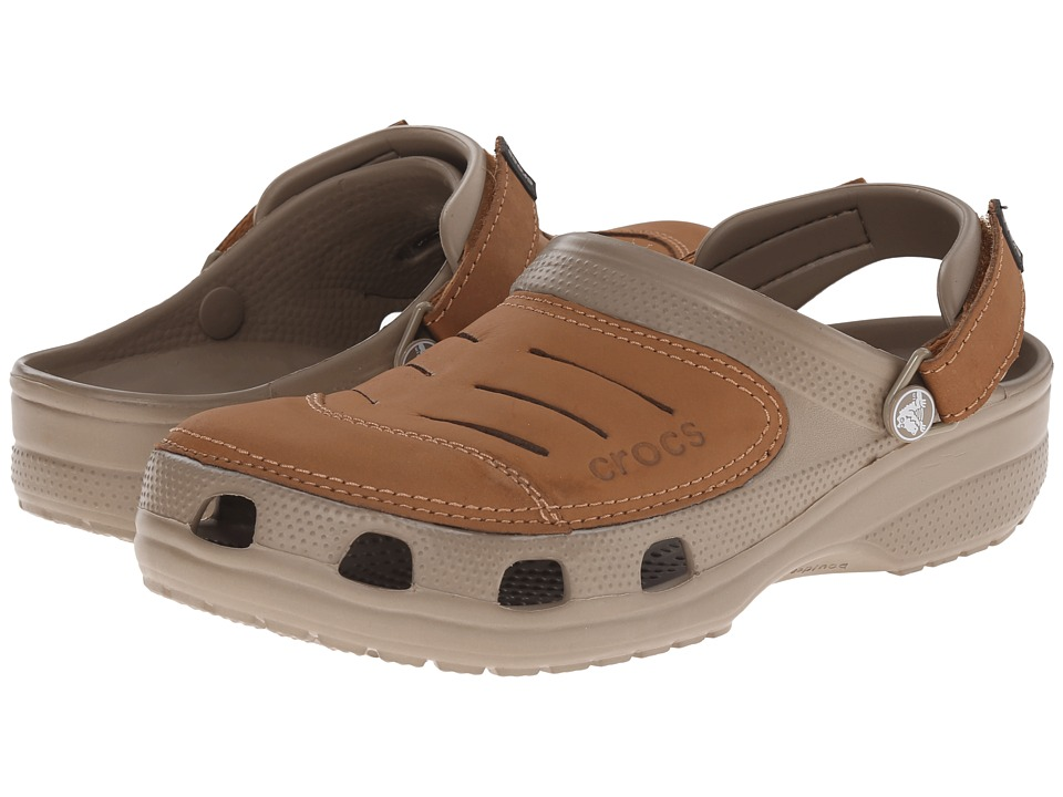 Crocs - Yukon (Khaki/Canvas) Men's Clog Shoes