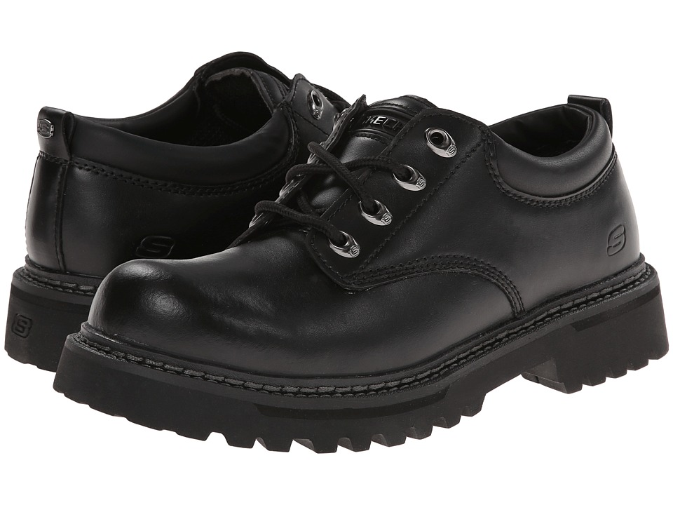 SKECHERS - Cool Cat - Pixel (Black Smooth Leather) Men