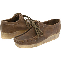 Clarks Wallabee (Taupe Distressed) Footwear