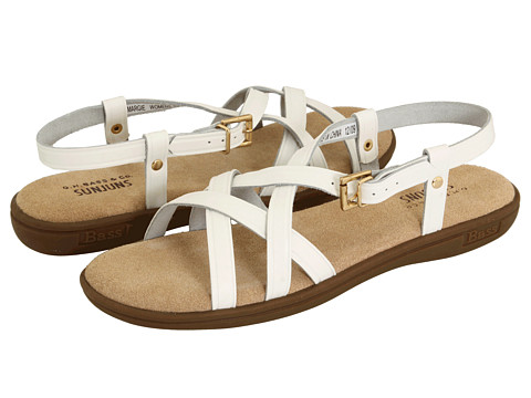 Bass - Margie (White) Women's Sandals
