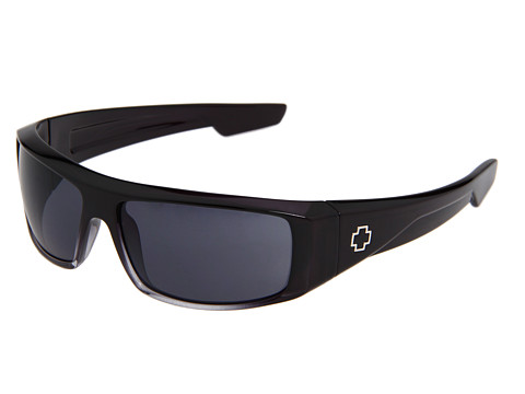 Spy Optic - Logan (Black Fade/Grey Lens) Sport Sunglasses