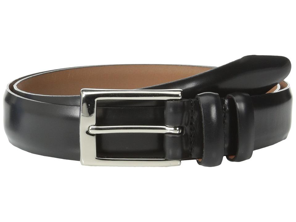 Allen Edmonds Polished Cobbler (Black Polished Cobbler) Men's Belts