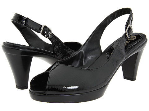 Bella-Vita - Wren (Black Patent Leather) Women