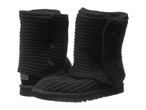 UGG - Classic Cardy (Black) Women's Boots