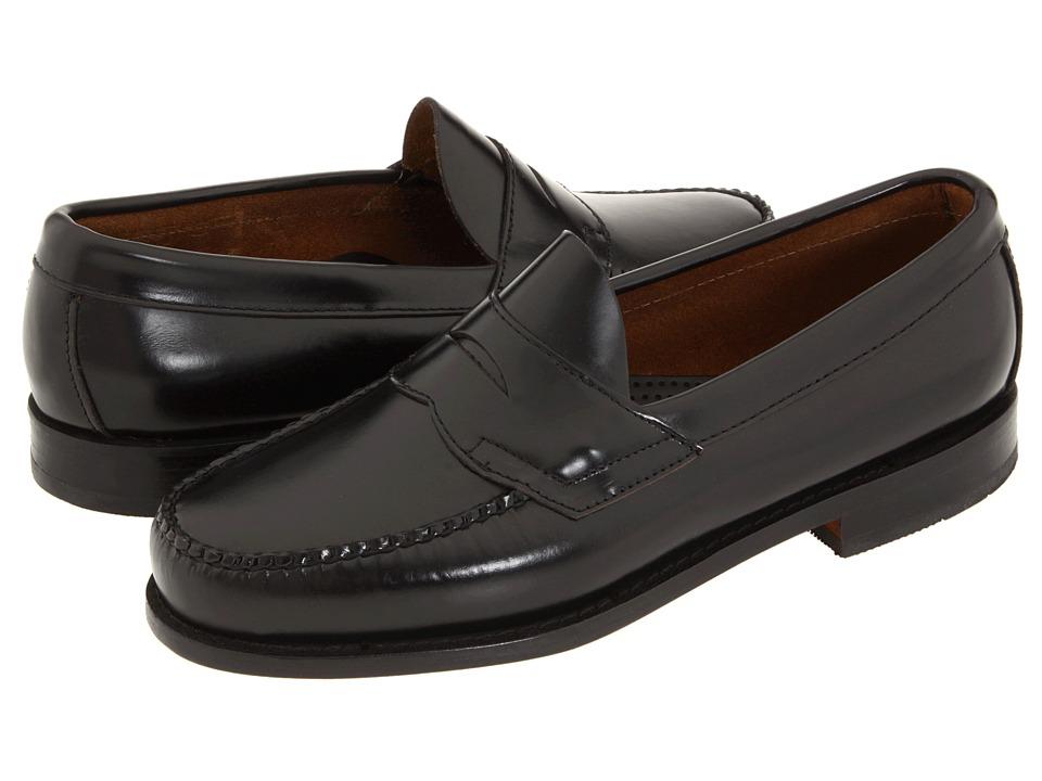 Bass - Logan (Black Leather) Mens Shoes