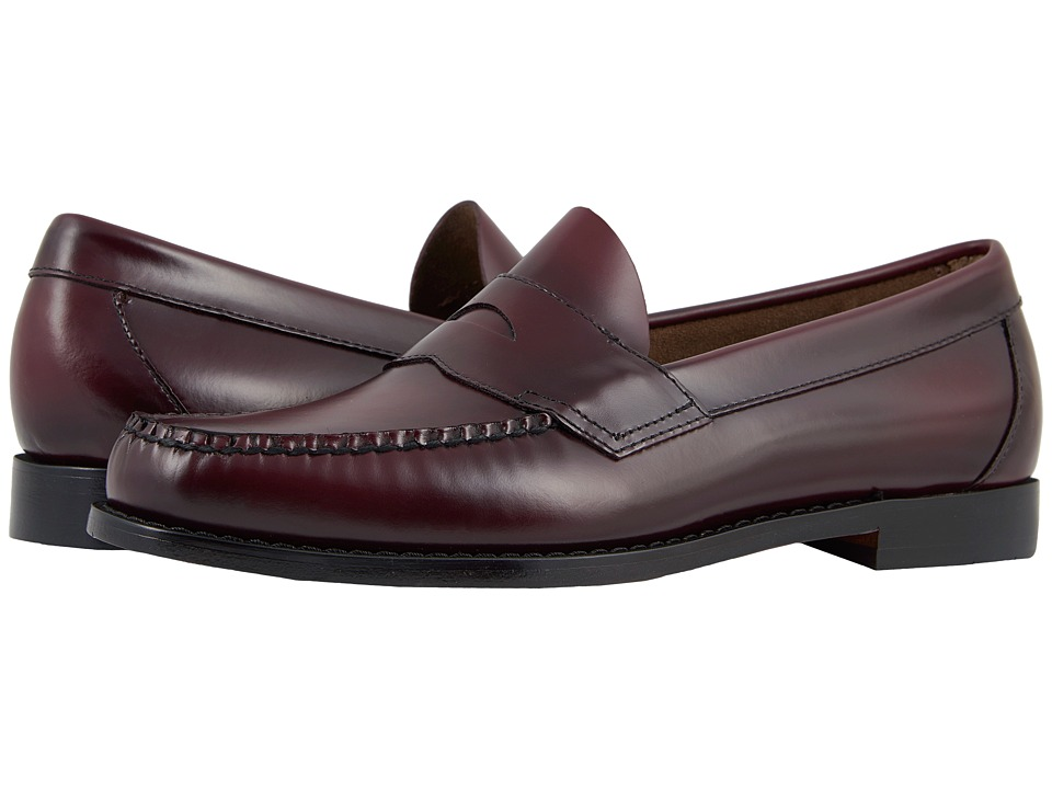 Bass - Logan (Burgundy Leather) Mens Shoes