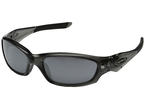 Oakley - Straight Jacket (Grey Smoke/Black Iridium Lens) Sport Sunglasses