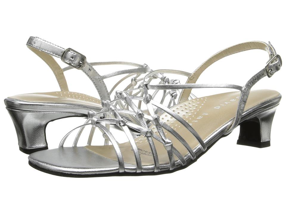 David Tate - Yknot (Silver) Women's Sandals