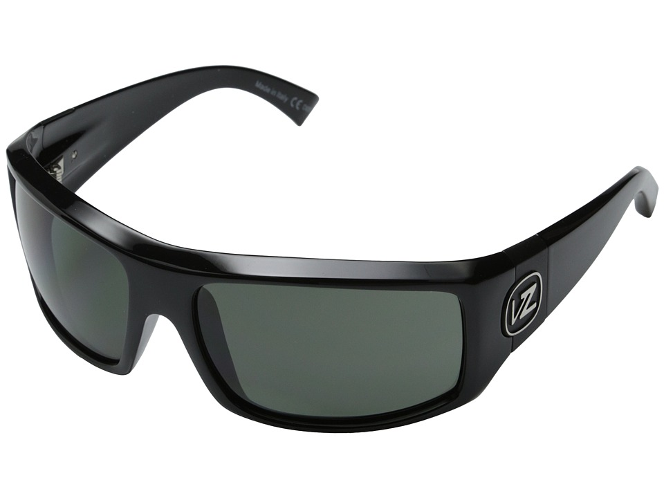 VonZipper - Clutch (Black Gloss/Grey Lens) Sport Sunglasses