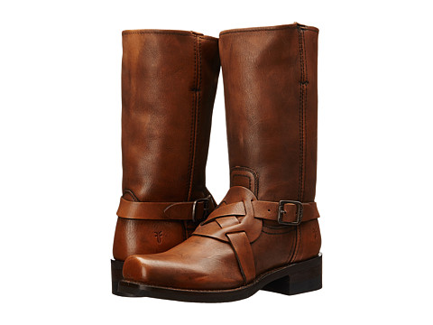 Frye - Harness Vintage (Brown Vintage) Men