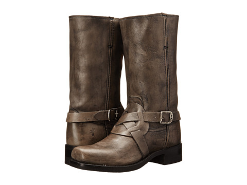 Frye - Harness Vintage (Black Vintage) Men