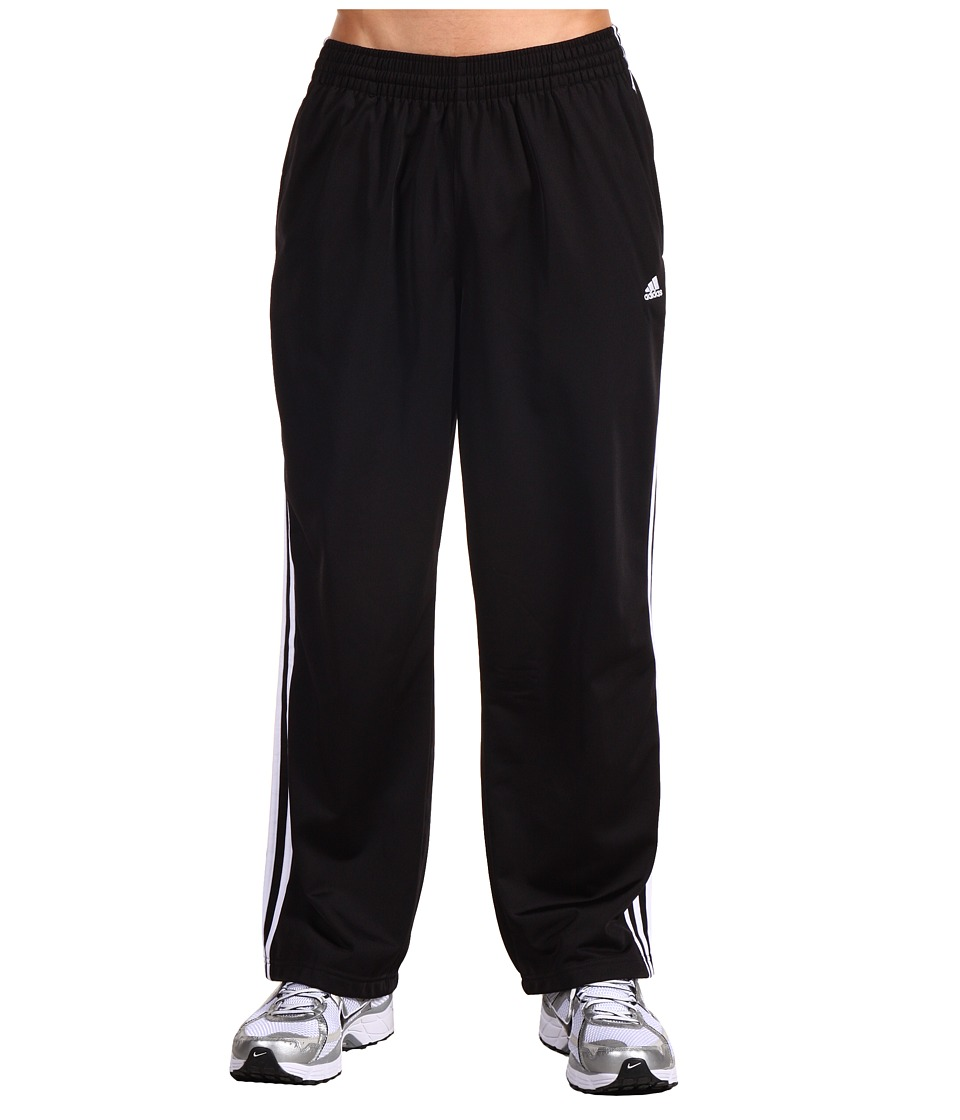 adidas - 3-Stripes Pant (Black/White/White) Men's Workout