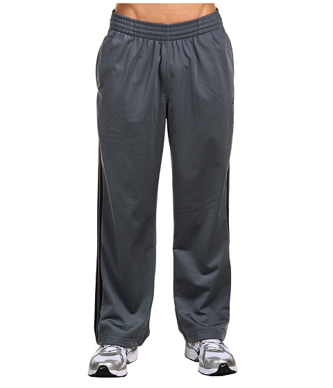 adidas - 3-Stripes Pant (Lead/Black/Black) Men