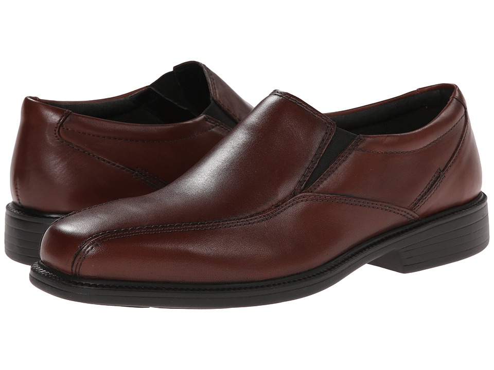 Bostonian - Bolton (Brown Smooth Leather) Men's Slip-on Dress Shoes
