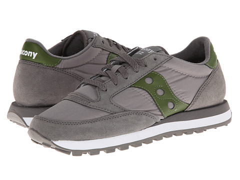 Saucony Originals - Jazz Original (Gray/Green) Men