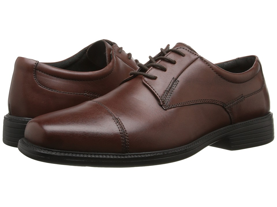 Bostonian - Wenham (Brown Smooth Leather) Men's Lace Up Cap Toe Shoes