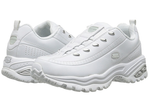 SKECHERS - Premix (White Leather) Women