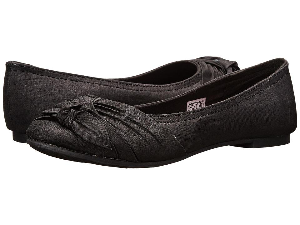 Rocket Dog - Memories (Black Thai Silk) Women's Slip on Shoes