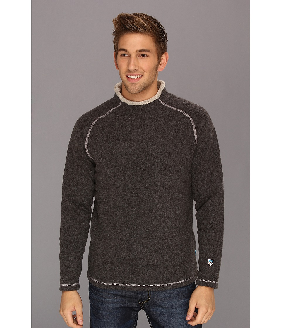 Kuhl - Stovepipe Sweater (Steel/Stealth Gray/Stealth Gray) Men