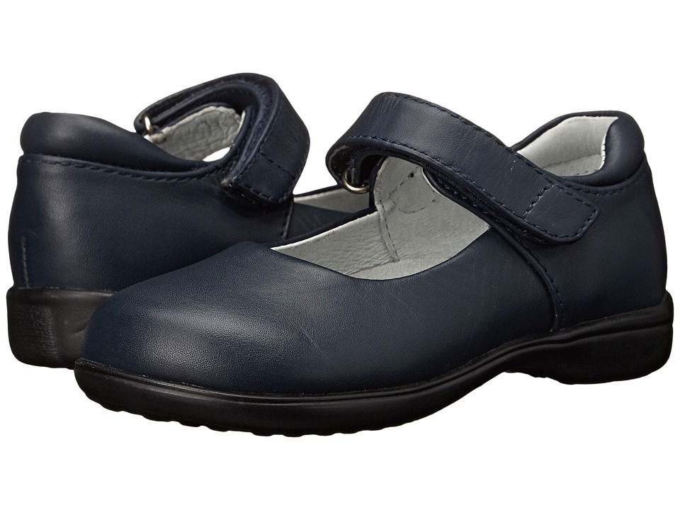 Jumping Jacks Kids - Tutor (Toddler/Little Kid) (Navy Leather) Girls Shoes
