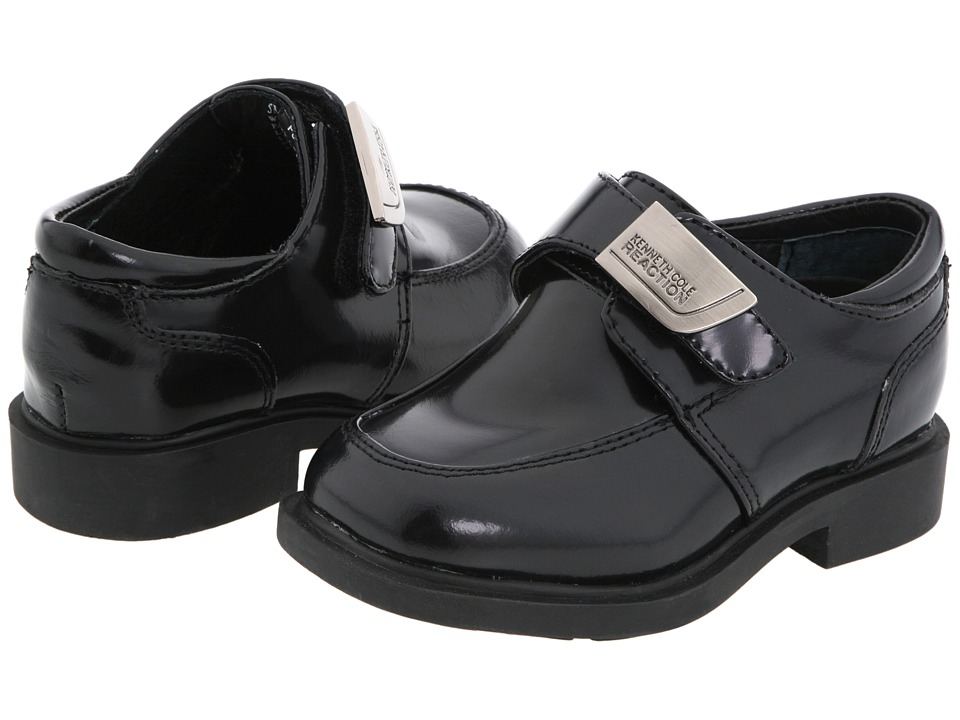 Kenneth Cole Reaction Kids - Fast Cash 2 (Toddler/Little Kid) (Black Box Leather) Boys Shoes