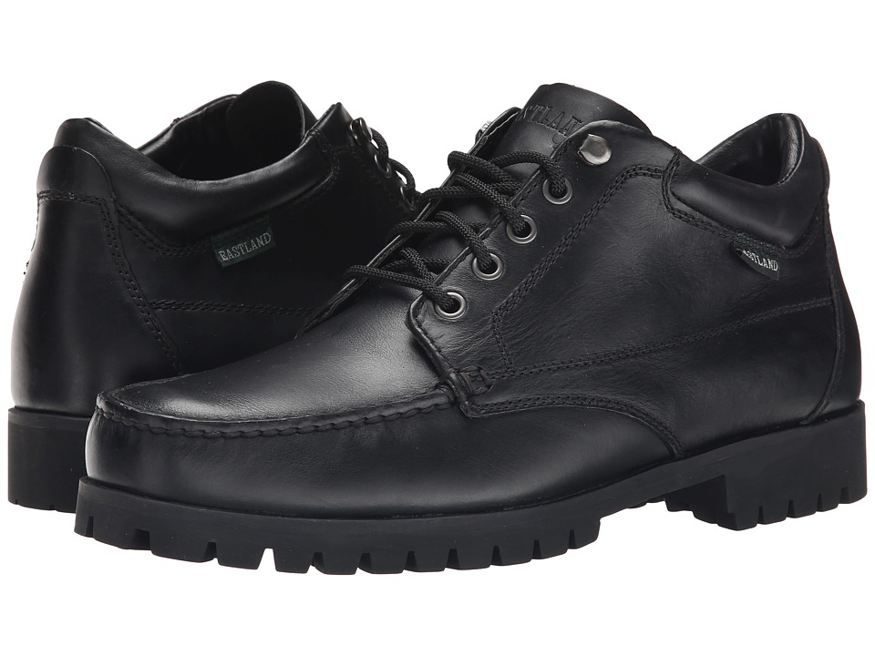 Eastland - Brooklyn (Black Leather) Men's Lace-up Boots