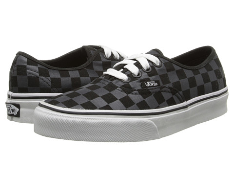 Vans - Authentic Core Classics ((Checkerboard) Black/Black) Skate Shoes