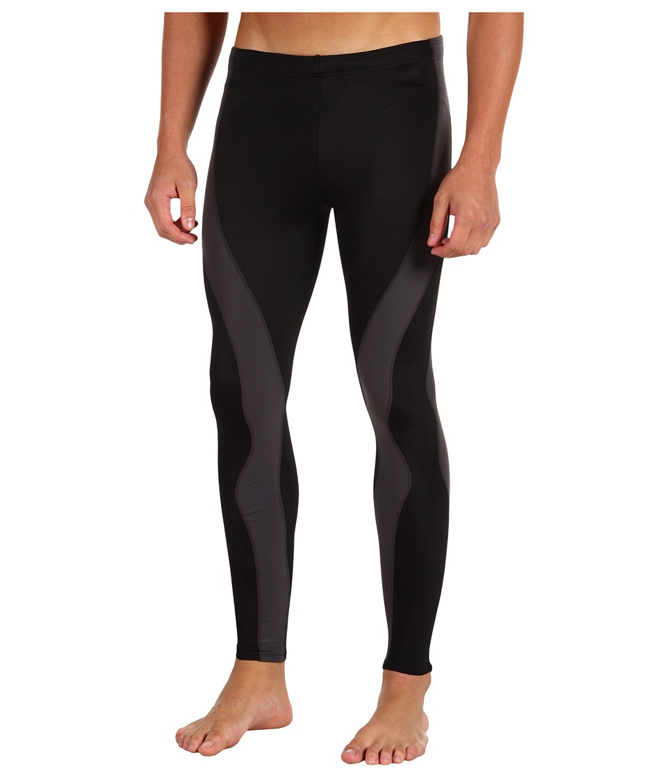 CW-X - PerformX Tight (Black/Dark Grey) Men's Workout