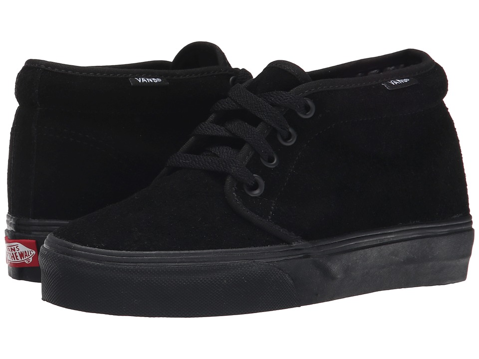 Vans Chukka Boot Core Classics (Black/Black (Suede)) Shoes