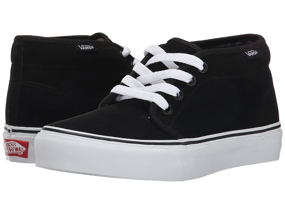 Vans Chukka Boot Core Classics (Black/White (Suede)) Shoes