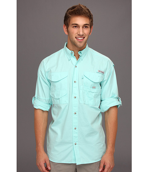 Columbia - Bonehead L/S Shirt (Gulf Stream) Men's Long Sleeve Button Up