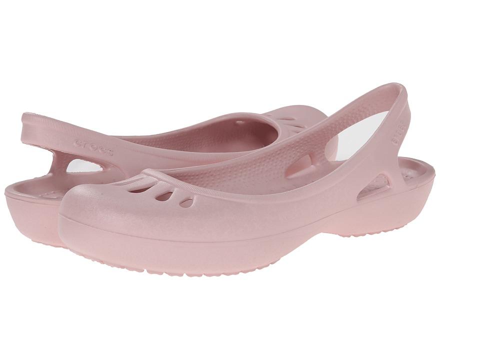 Crocs - Malindi (Cotton Candy) Women's Slip on Shoes
