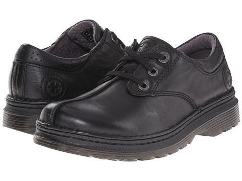 Dr. Martens - Nevin - 3 Eye Butt Seam Oxford (Black) Lace up casual Shoes