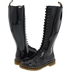 Dr. Martens 1B60 W (Black Patent) Women's Lace-up Boots