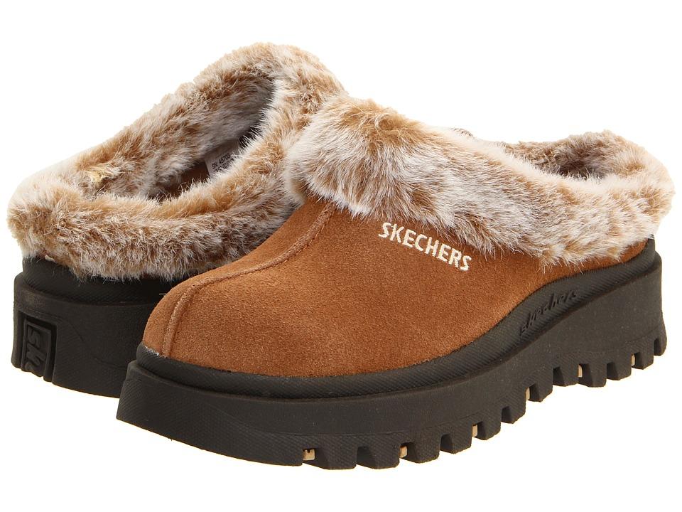 SKECHERS - Shindigs - Fortress (Chestnut) Women's Shoes