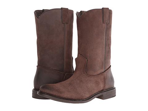 Frye - Marco Roper (Dark Brown) Cowboy Boots