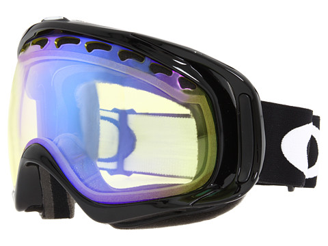 Oakley - Crowbar (Jet Black/H.I. Yellow) Snow Goggles