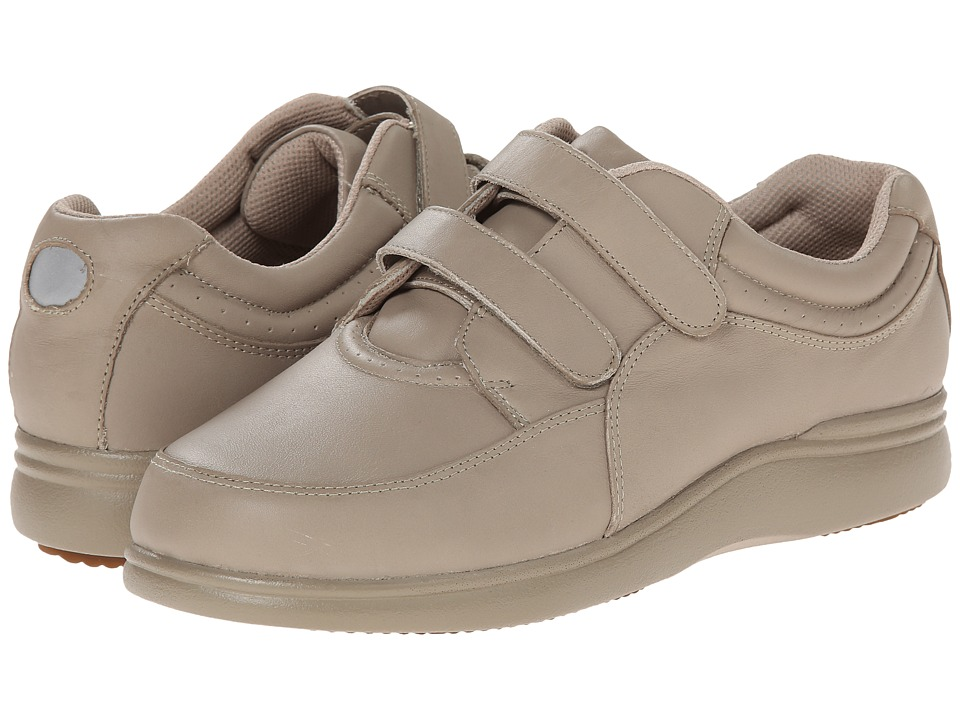 Hush Puppies Power Walker II (Taupe Leather) Women