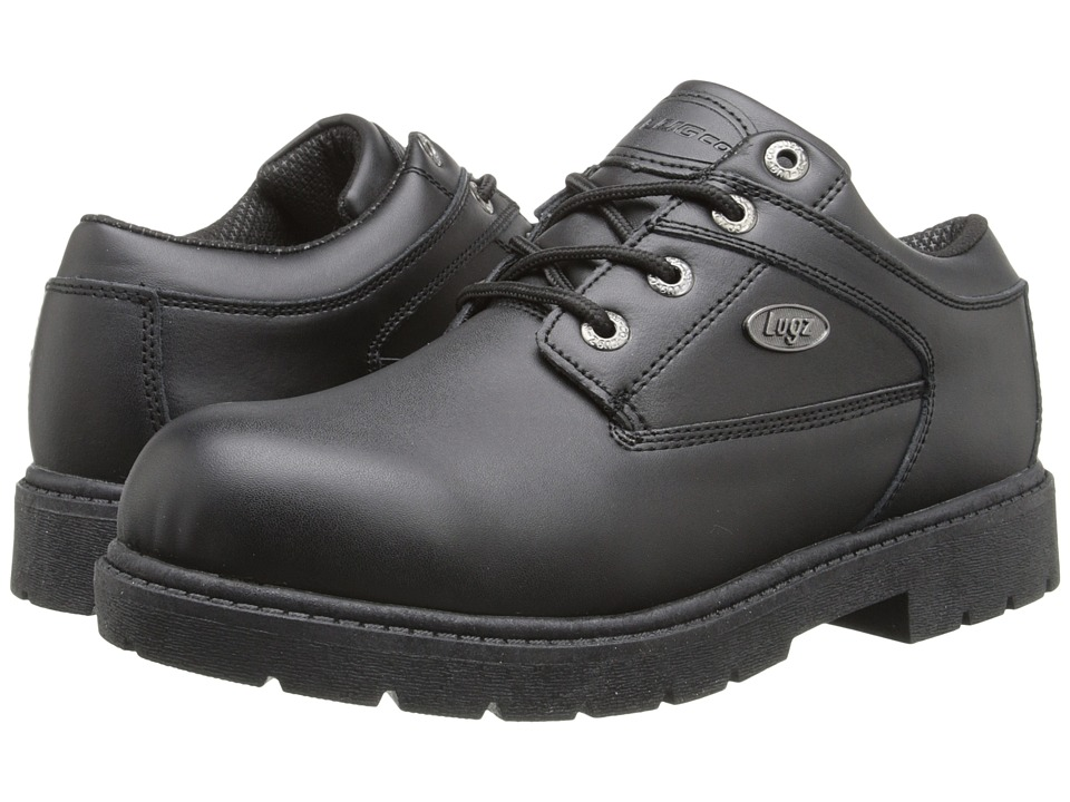 Lugz - Savoy (Black Leather) Men's Lace up casual Shoes