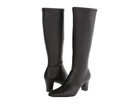 David Tate - Denver (Black Stretch Smooth) Women's Dress Boots