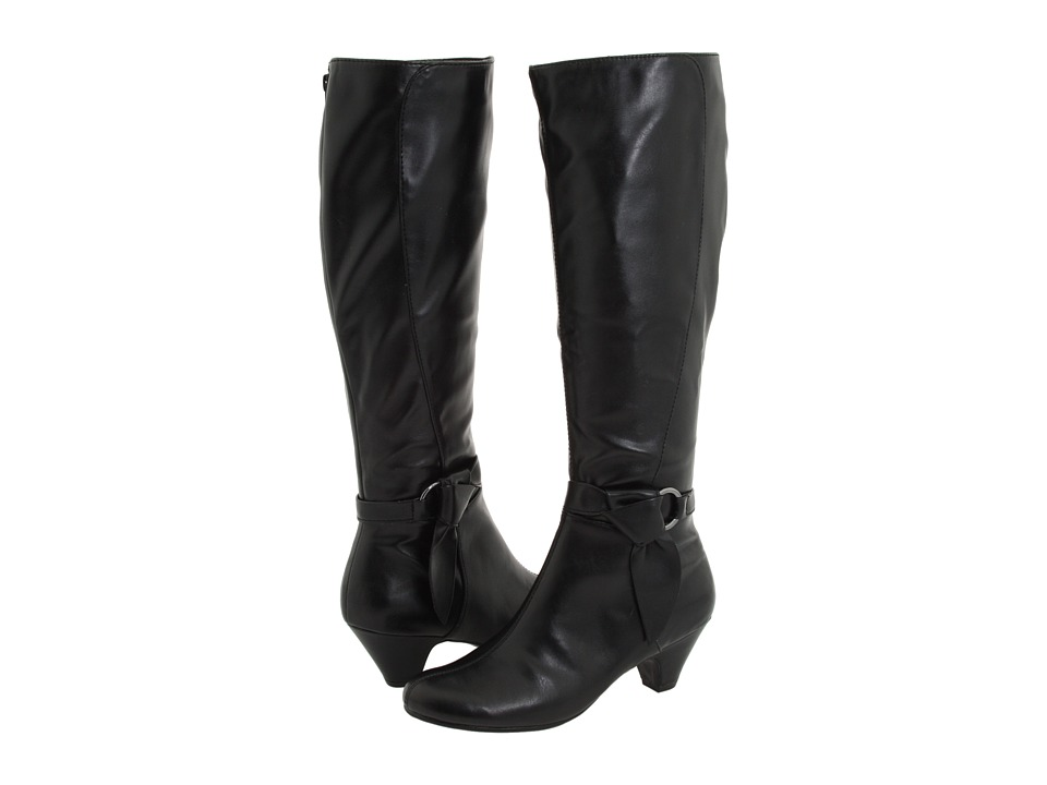 Aerosoles - Infamous (Black PU) Women's Dress Zip Boots
