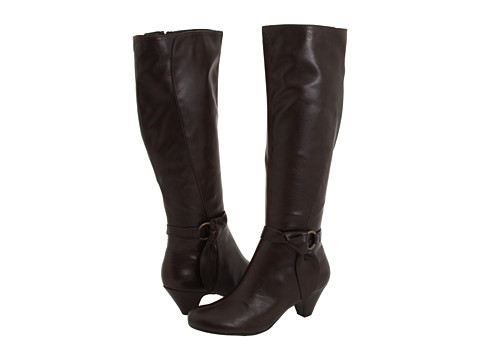 Aerosoles - Infamous (Brown PU) Women's Dress Zip Boots
