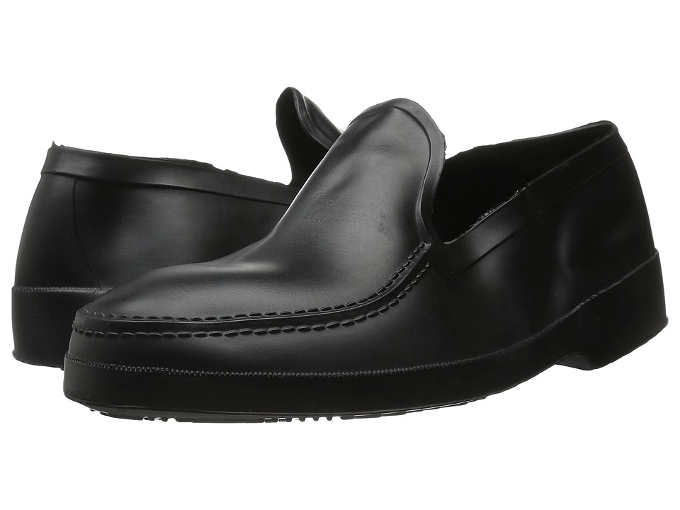 Tingley Overshoes - Rubber Moccasin (Black) Men's Overshoes Accessories Shoes