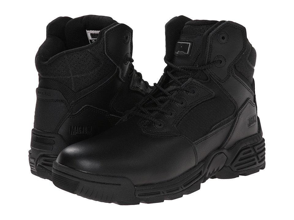 Magnum - Stealth Force 6.0 (Black) Men's Work Boots