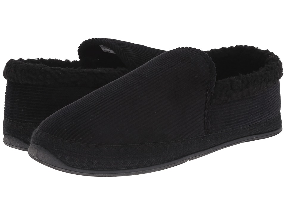 Deer Stags - Strings (Black) Men's Slippers